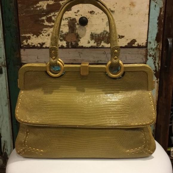 930bdceda0d Bottega Veneta Bags   Lizard Limited Plaqued Handbag   Poshmark